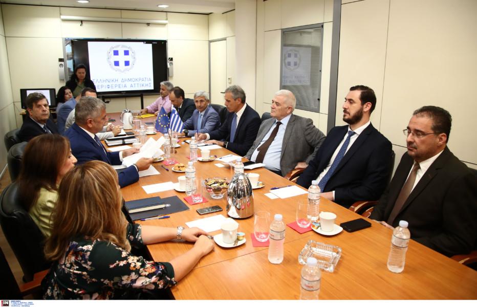 Εικόνες και VIDEO από την συνάντηση Μελισσανίδη στην Περιφέρεια