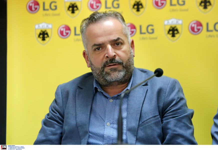 Κουτελός: «Από τη συνεργασία AEK-LG επωφελούνται και οι δύο πλευρές»
