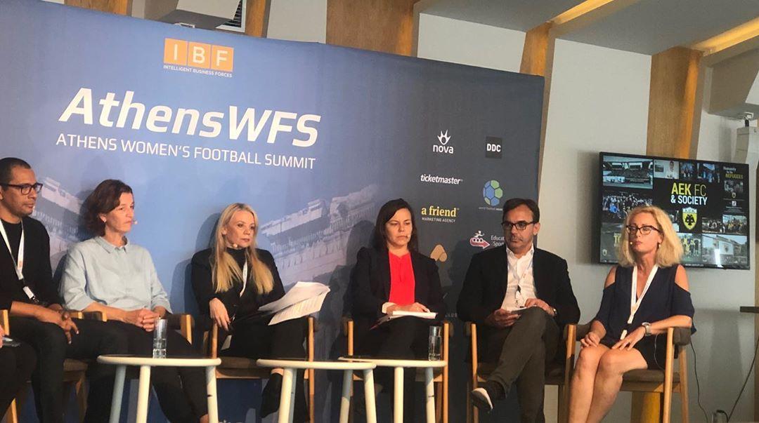 Η ΠΑΕ ΑΕΚ στο Athens Women's Football Summit (ΦΩΤΟ)
