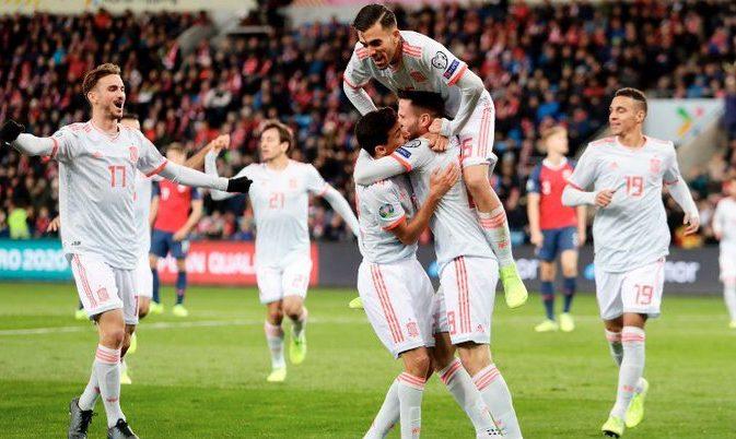 Προκριματικά Euro 2020: Πρόκριση στις καθυστερήσεις για την Ισπανία, πήρε τον «τελικό» η Ελβετία