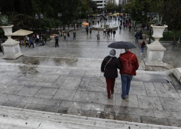 Βροχές (και) στην Αθήνα την 28η Οκτωβρίου