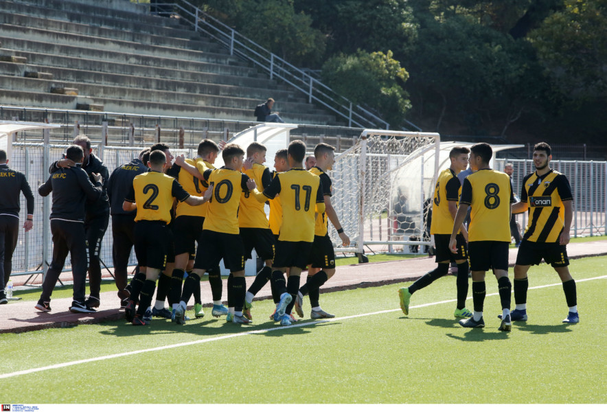 Άνετη νίκη με 2-0 για την Κ19 της ΑΕΚ επί του Ατρομήτου