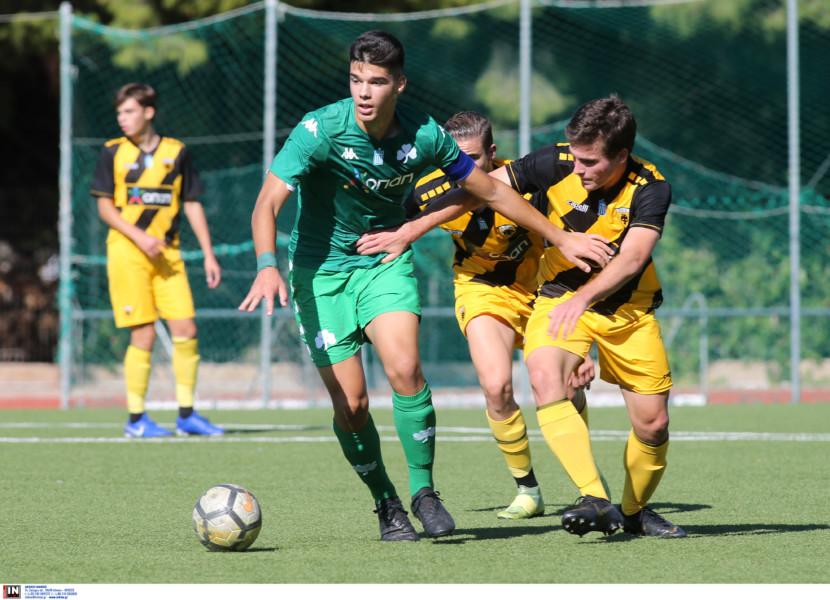Εικόνες από το ματς της Κ17 Παναθηναϊκός-ΑΕΚ