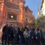 Συγκίνηση στο ταξίδι της ομάδας πόλο της ΑΕΚ στο Φανάρι (ΦΩΤΟ)