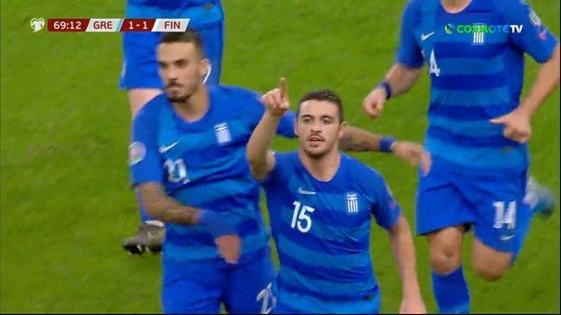 Παρθενικό γκολ για Γαλανόπουλο στην Εθνική