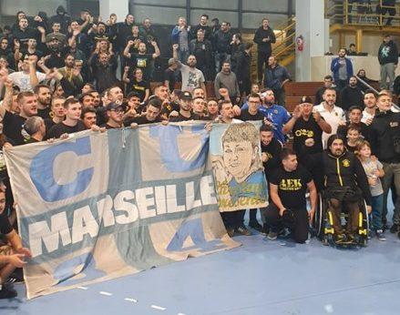 30 οπαδοί της Μαρσέιγ στο γήπεδο! (ΦΩΤΟ)