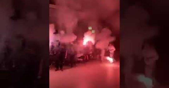 Αποθέωση στη γυναικεία ομάδα βόλει της ΑΕΚ από την Original Κορίνθου (ΦΩΤΟ-VIDEO)