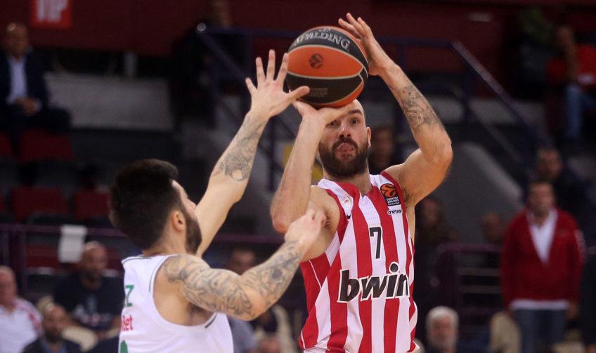 Επέστρεψε στις νίκες ο Ολυμπιακός, κέρδισε με 83-74 την Ζαλγκίρις