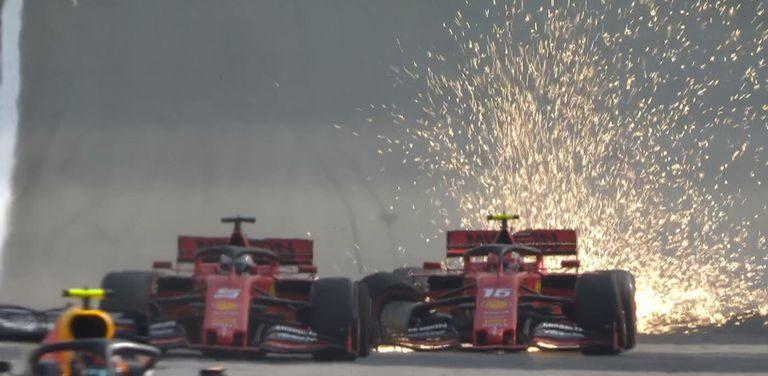 Τράκαραν αναμεταξύ τους στην Ferrari (VIDEO)