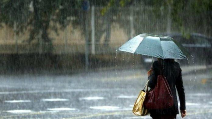 Έκτακτο δελτίο καιρού -Έρχονται από απόψε ισχυρές βροχές, καταιγίδες, χαλάζι και άνεμοι
