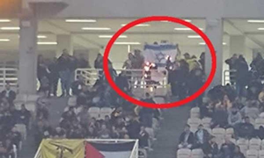 Επιστολή της ομοσπονδίας του Ισραήλ στον Κομνηνό για το κάψιμο της σημαίας στο ΑΕΚ-Χάποελ