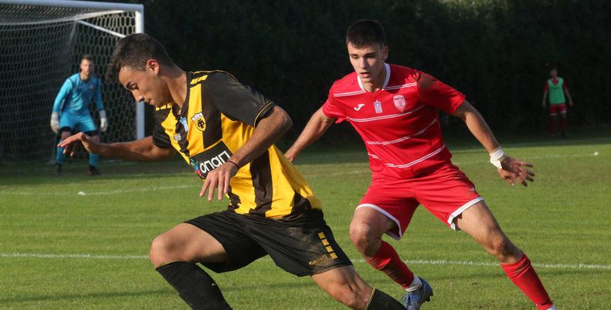 Εικόνες από το ματς της Κ19 Ξάνθη-ΑΕΚ