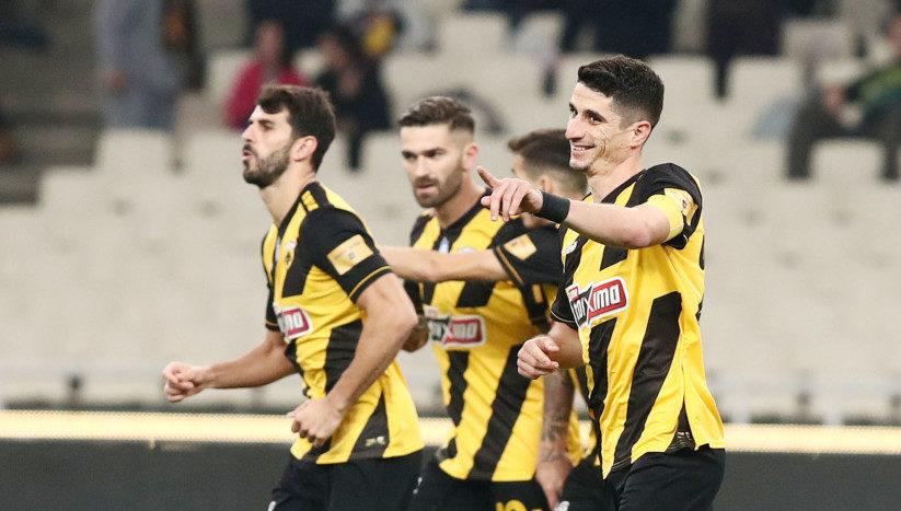 ΑΕΚ - Αστέρας Τρίπολης 2-1 (ΤΕΛΙΚΟ)