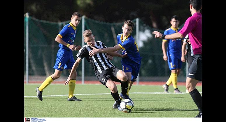 Ισοπαλία (1-1) για την ΑΕΚ Κ15 με τον ΟΦΗ
