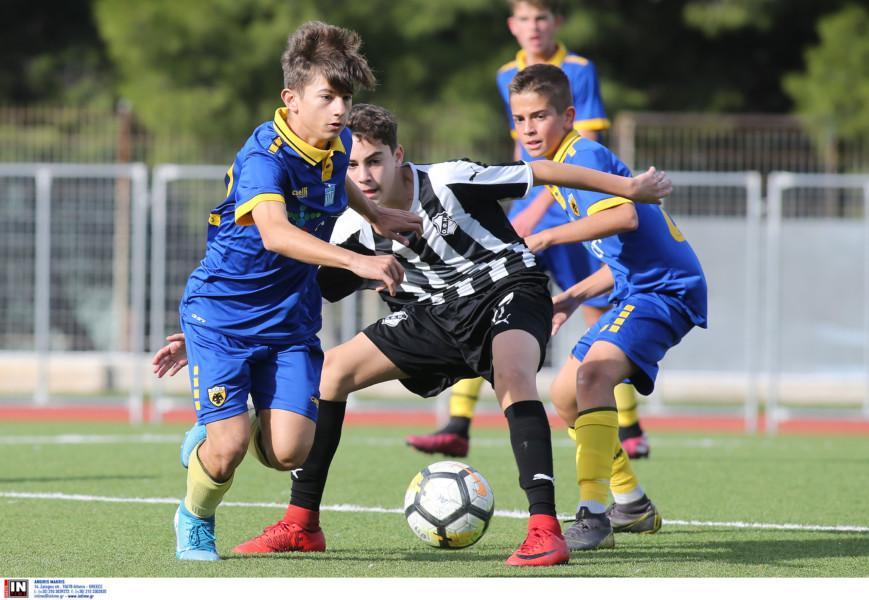 Εικόνες από το ματς της Κ17 ΑΕΚ-ΟΦΗ
