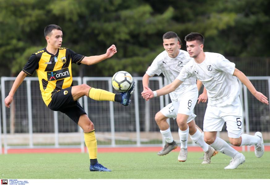 Μεγάλη νίκη (4-3) για την ΑΕΚ Κ17 κόντρα στον ΟΦΗ