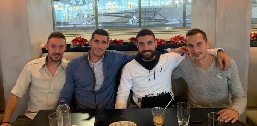 Ρίκκα-Πετρόπουλος-Αραβίδης: Τρεις πρώην «κιτρινόμαυροι» μαζί!