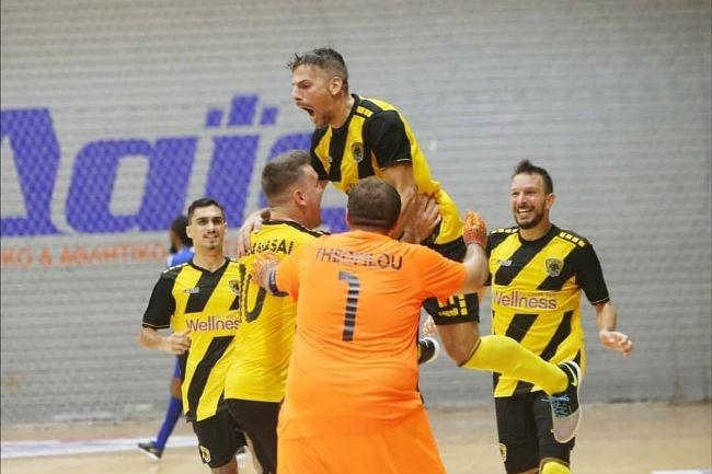 Futsal: Κέρδισε με 5-1 το Νέο Ικόνιο η ΑΕΚ