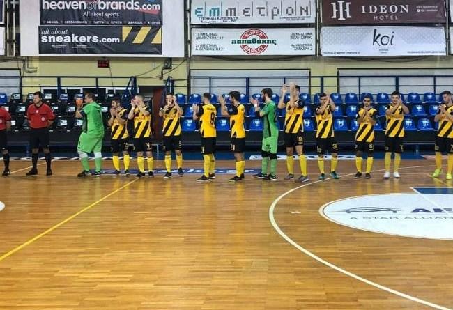 LIVE το ΑΕΚ-Νέο Ικόνιο στο Futsal (VIDEO)