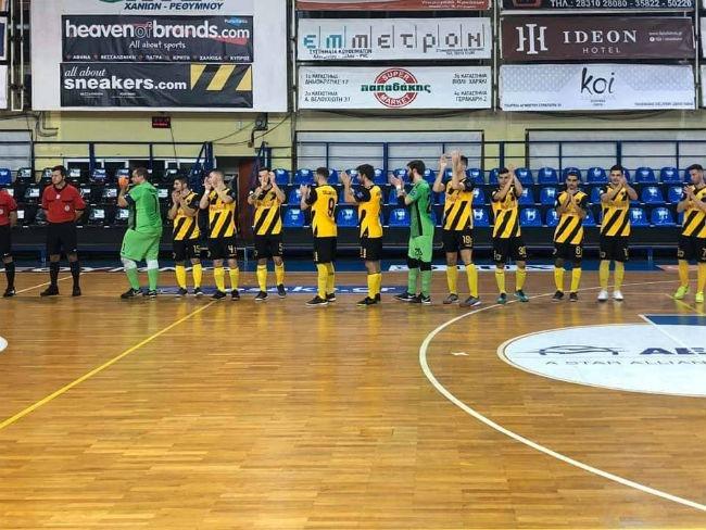 Για την επιστροφή στις νίκες η ΑΕΚ στο Futsal με Νέο Ικόνιο