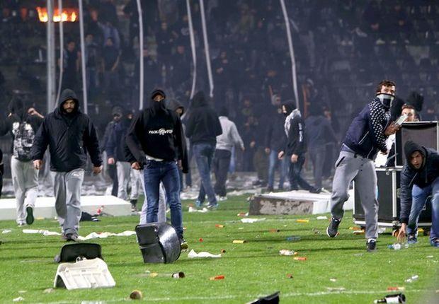 Ποινές φυλάκισης σε τέσσερις οπαδούς του ΠΑΟΚ, για επεισόδια σε ματς με τον Ολυμπιακό