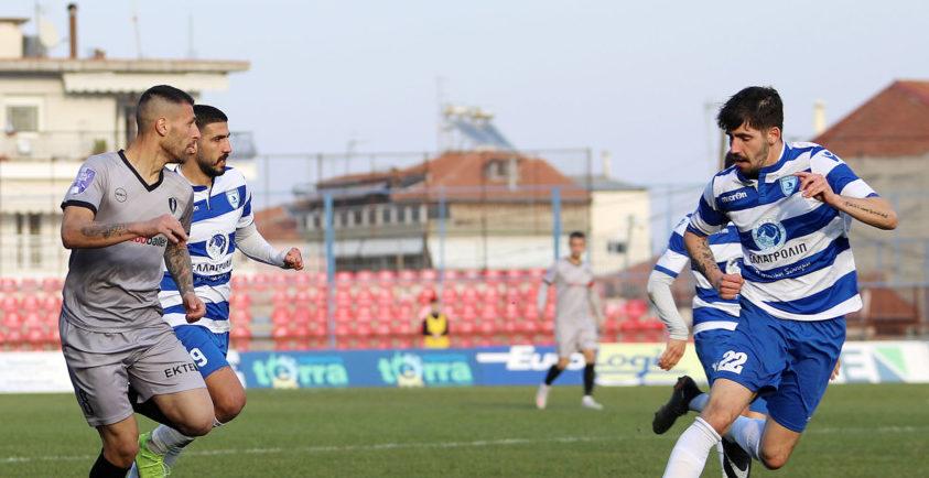 Στο κόλπο της ανόδου η Καβάλα, νίκησε (0-2) την Βέροια