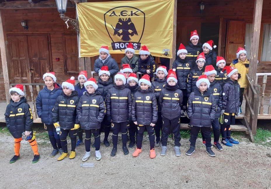 Ξεχώρισαν οι μικροί της ακαδημίας ΑΕΚ Futsal (ΦΩΤΟ)