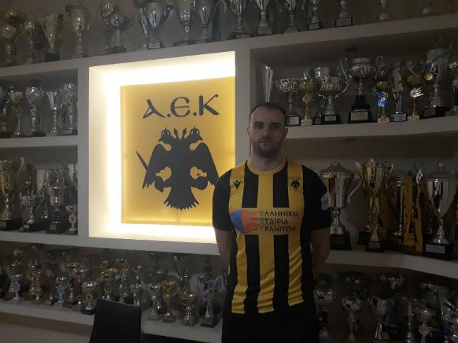 Bogdan Criciotoiu και επίσημα στην ΑΕΚ (ΦΩΤΟ)