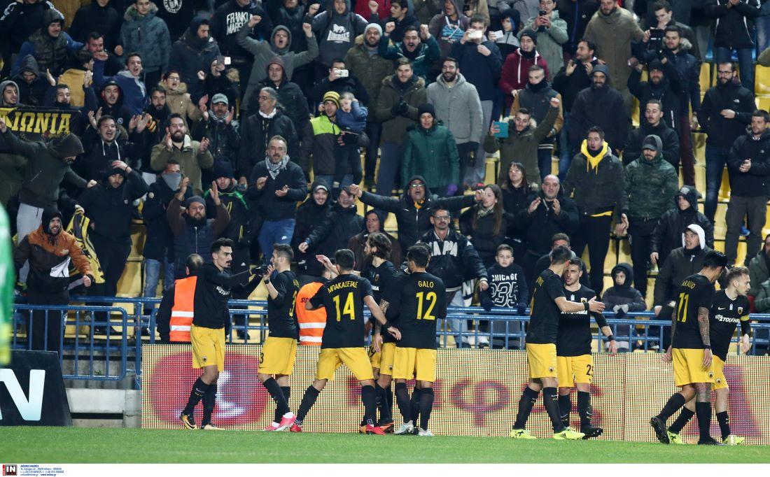 Μόνο νίκες και με πολλά γκολ η ΑΕΚ στο κύπελλο με τον Παναιτωλικό (VIDEO)