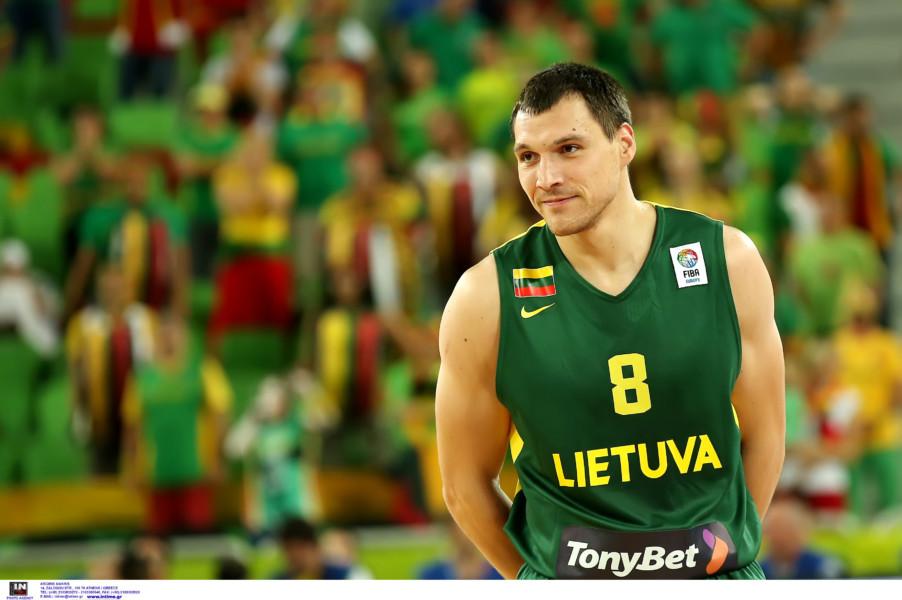 Με Ματσιούλις στα «παράθυρα» των προκριματικών του Eurobasket η Λιθουανία