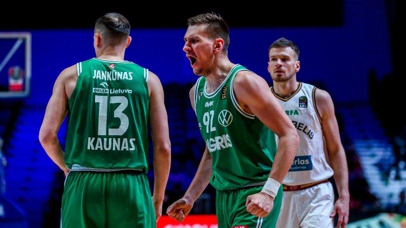 Ζαλγκίρις - Λιετκαμπέλις 82-72: Πέταξε για τελικό