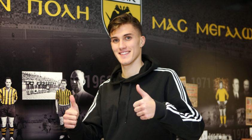 Υπέγραψε για 3+2 χρόνια στην ΑΕΚ ο Λάτσι!