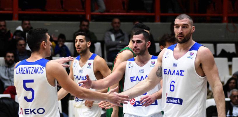 Ελλάδα-Βουλγαρία 73-63: Με νίκη ξεκίνησε στα προκριματικά του Ευρωπαϊκού πρωταθλήματος