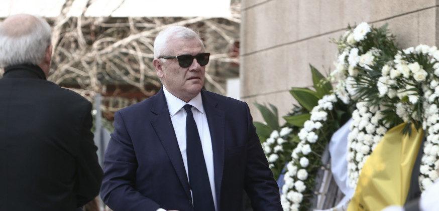 Ο Μελισσανίδης στην κηδεία του Κώστα Βουτσά (ΦΩΤΟ-VIDEO)