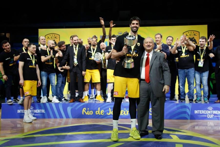 Σαν σήμερα η ΑΕΚ στέφθηκε Παγκόσμια Πρωταθλήτρια!