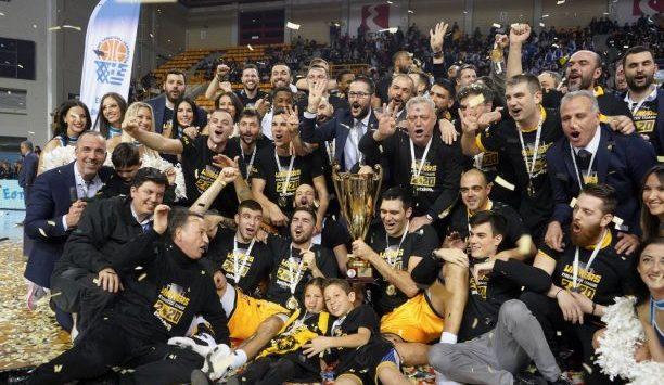 Συγχαρητήρια του Βούρου στην ΑΕΚ για το Κύπελλο
