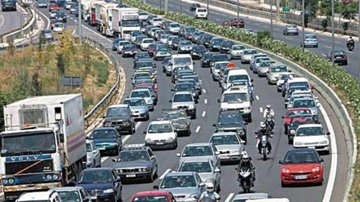 Τροχαίο ατύχημα στην Κατεχάκη - Σοβαρά κυκλοφοριακά προβλήματα