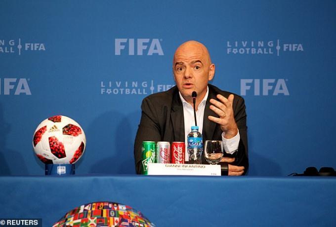 Χωρίς Ινφαντίνο η FIFA στην Ελλάδα