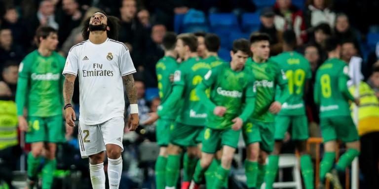 Σοκ για την Ρεάλ Μαδρίτης, αποκλείστηκε (3-4) από την Ρεάλ Σοσιεδάδ