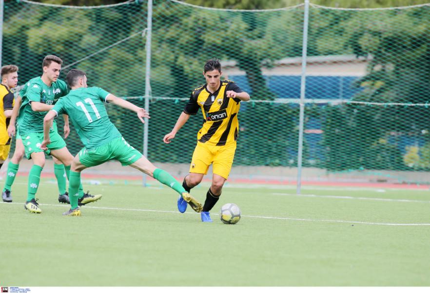 Εικόνες από το ματς της Κ17 ΑΕΚ - ΠΑΟ