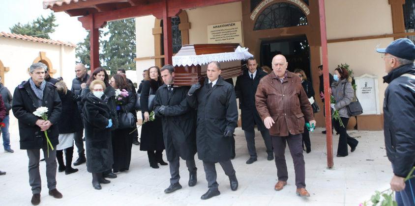 Παρών ο Στέλιος Σεραφείδης στο τελευταίο «αντίο» στον Γιάννη Καλογερά (ΦΩΤΟ)