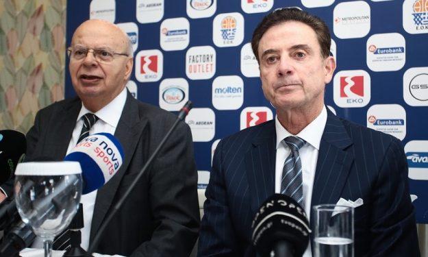 Βασιλακόπουλος: «Δεν έχει σχέση η παρουσία του Ρικ Πιτίνο στον Παναθηναϊκό με την Εθνική»