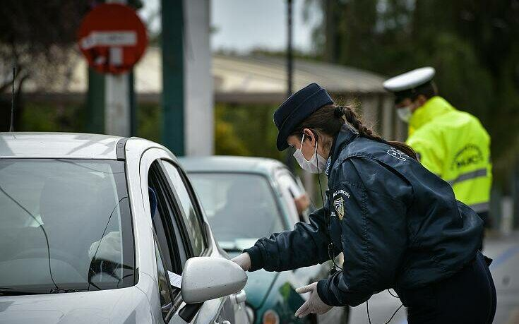 Κορωνοϊός: 2.193 παραβάσεις τη Δευτέρα- 15 συλλήψεις για ανοιχτά καταστήματα