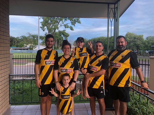 Μια οικογένεια στην Αυστραλία... μόνο ΑΕΚ! (ΦΩΤΟ)