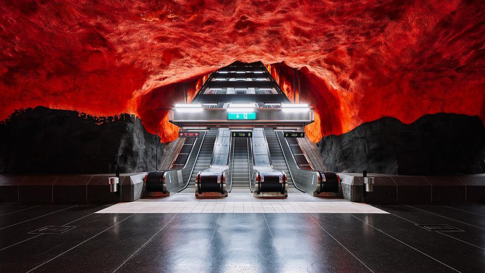 Πώς είναι το εντυπωσιακό μετρό της Στοκχόλμης (ΦΩΤΟ)