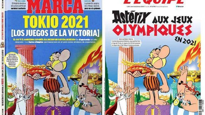 «Marca» κα «Equipe» με παρόμοιο πρωτοσέλιδο για τη μετάθεση των Ολυμπιακών Αγώνων (ΦΩΤΟ)