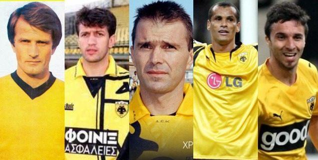 Φτιάξε την ΑΕΚ των ονείρων σου στο enwsi.gr: Επιλέξτε τον καλύτερο ξένο παίκτη! (poll)