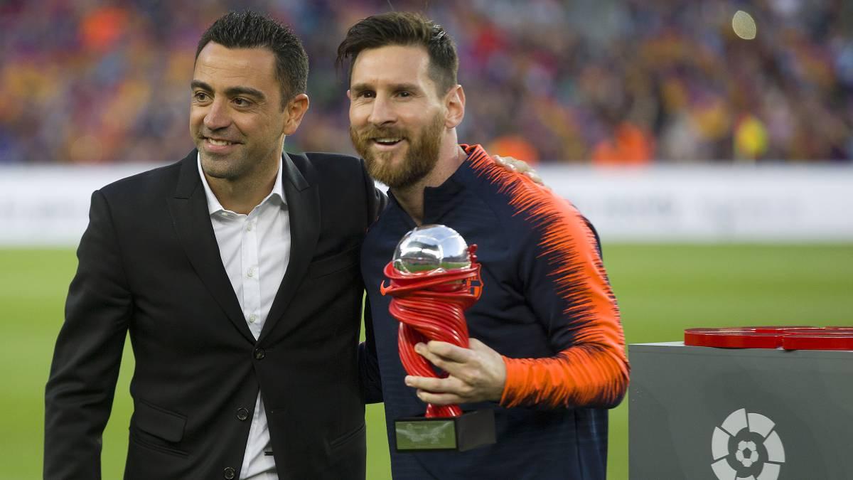 Τσάβι: «O Mέσι είναι ο καλύτερος στην ιστορία του ποδοσφαίρου»