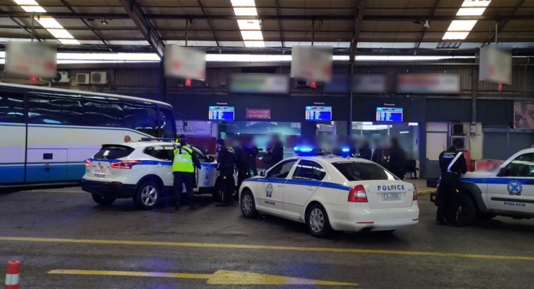 Κορωνοϊός: Έφοδος της Αστυνομίας στα ΚΤΕΛ Κηφισού