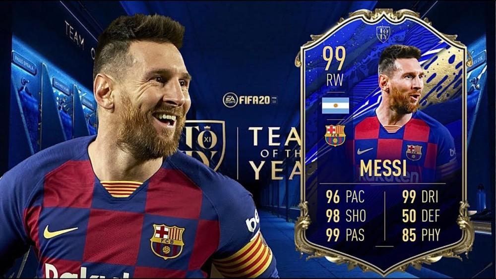 FIFA 20: Οι 11 παίκτες που είναι καλύτεροι του Μέσι (VIDEO)